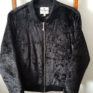 Juicy Couture Black Velvet Jacket